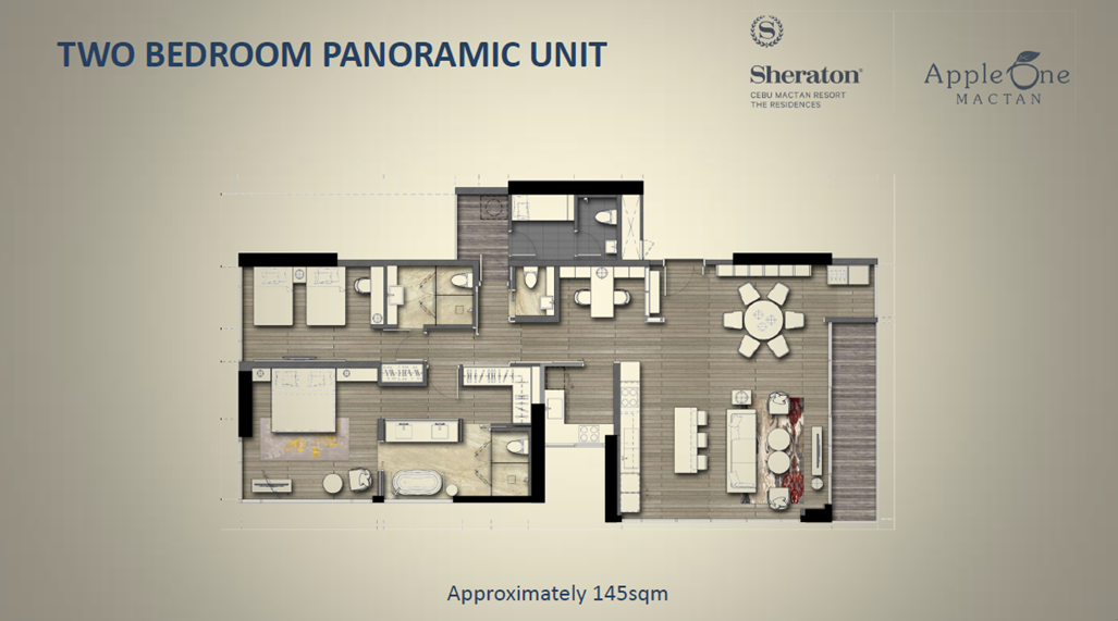 Two Bedroom Panoramic Unit