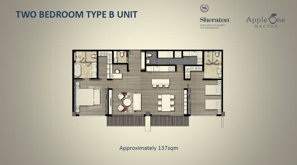 Two Bedroom Type B Unit